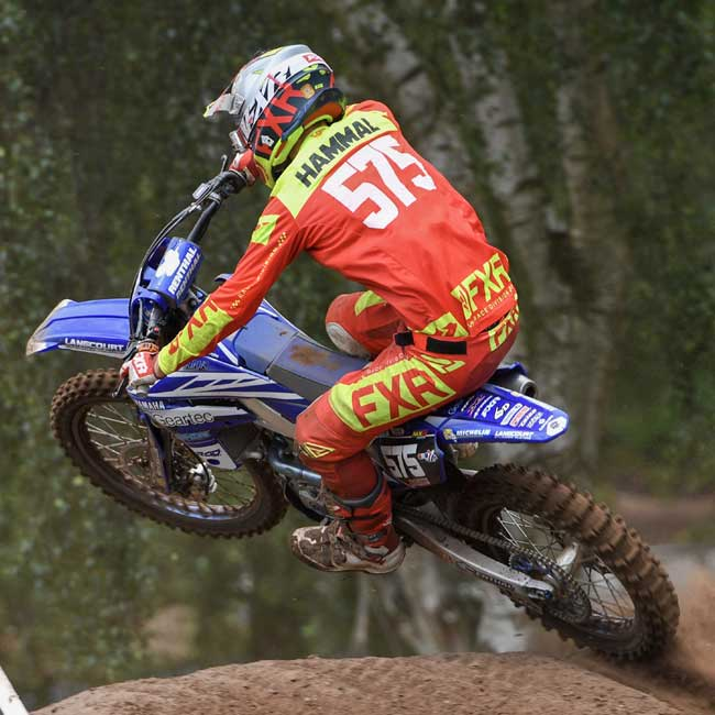 Hand injury hampers Hammal at Hawkstone!
