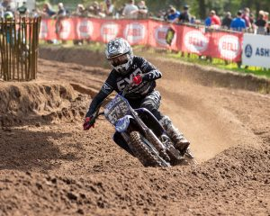 Hammal earns first MX Nationals podium at Hawkstone!